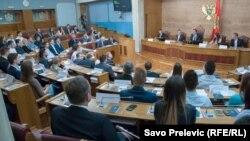 Studenti u crnogorskom parlamentu