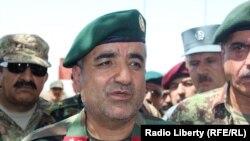 Кадам Шах Шахим в бытность начальником генерального штаба армии Афганистана.