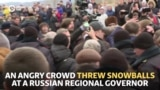 Crowd Confronts Russian Governor After Children Fall Ill