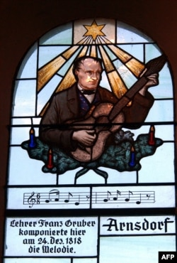 Портрет композитора Франца Ґрубера в «Каплиці «Тихої ночі»