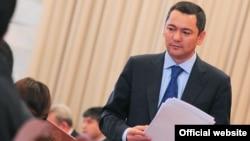 Kyrgyzstan Prime Minister Omurbek Babanov