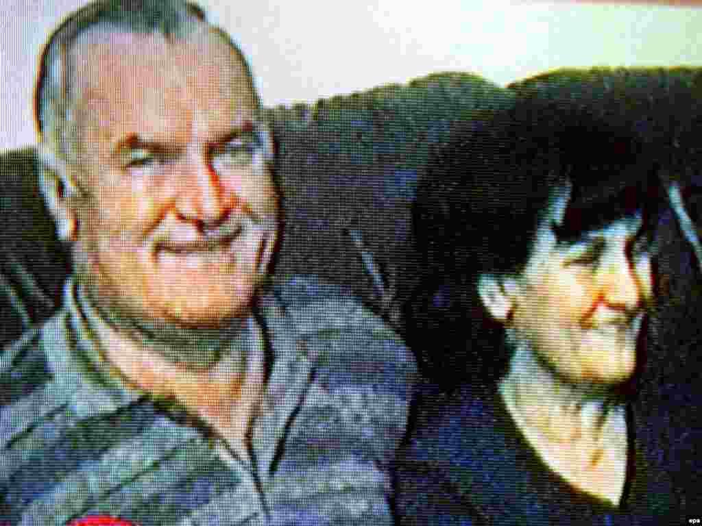 2009 ел видеосында Ратко Младич хатыны белән
