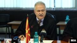 Архивска фотографија - Јово Вангеловски како претседател на Врховниот суд
