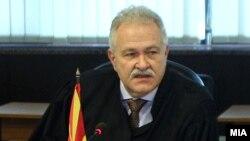 Претседателот на Врховниот суд, Јово Вангеловски.