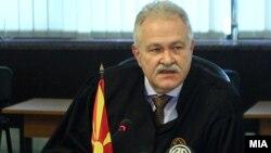 Претседателот на Врховен суд, Јово Вангеловски
