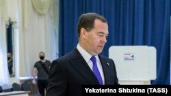 Заменик-претседателот на рускиот Совет за безбедност, Дмитриј Медведев