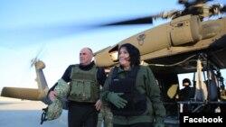 Саломе Зурабишвили в Афганистане. 2018 год