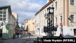 Дзьве новыя пешаходныя вуліцы ў цэнтры Менску
