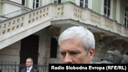 Serbian President Boris Tadic in Prague