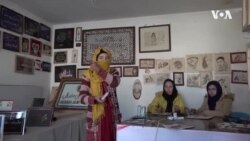 Afghan Women Pyrographers Challenge Male Counterparts In The Arts Industry