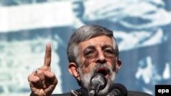 غلامعلی حداد عادل، رييس مجلس شورای اسلامی. عکس از خبرگزاری (EPA)