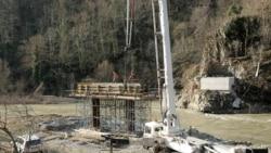 Работы по строительству Намахвани ГЭС (архивное фото)
