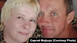 Сяргей і Алена Маўшукі
