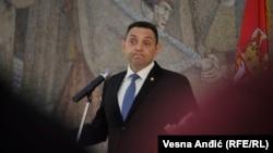 Aleksandar Vulin: Za što hitnije i što sigurnije razgraničenje sa Šiptarima