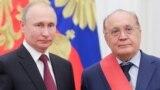 Владимир Путин и ректор МГУ Виктор Садовничий, 23 мая 2019 года