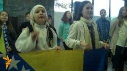 Osnovci obilježili Dan državnosti BiH