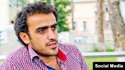 Azerbaijan. Baku. Reporter Ahmed Mukhtar