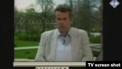 Snimak izvještavanja Martina Bella iz BiH tokom rata