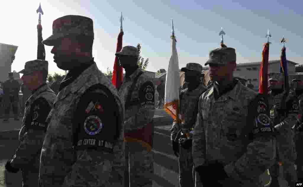 Мероприятия жертв памяти 11 сентября в Центре транзитных перевозок в Бишкеке