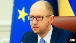 Украинскиот премиер Арсениј Јацењук.