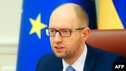 Премьер-министр правительства Украины Арсений Яценюк