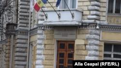 Primăria de la Chișinău.