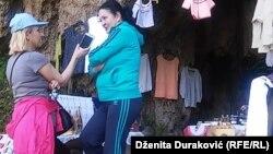 Novinarka RSE Dženita Duraković u razgovoru sa Drenom Bosnić