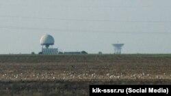 Трассовый радиолокационный комплекс в селе Витино Сакского района использовался для системы «Вымпел»