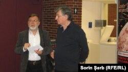 Matei Vișniec cu Ion Caramitru