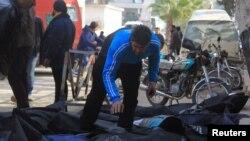 Орусиянын аба чабуулдарын иликтөө, Сириянын Идлиб шаары, 20-декабрь, 2015-жыл.