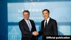 Премьер-министры Армении и Казахстана в Алматы, 2 февраля 2018 г.