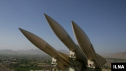The Iranian missile system Mersad