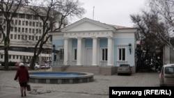 Будівля Театру ляльок у Сімферополі, яку мають намір знести