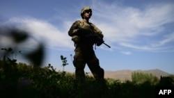 O patrulă americană în provincia afgană Logar, 6 octombrie 2012.