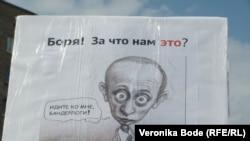 Москва, 6 мая 2012 года, плакаты митинга и шествия на Болотной