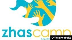 Zhascamp.kz сайтының логосы.