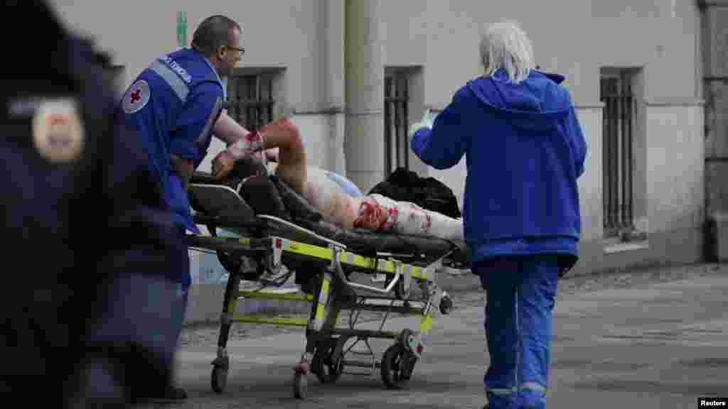 Министерство иностранных дел Украины выясняет, есть ли среди пострадавших в результате взрыва в Санкт-Петербурге украинцы