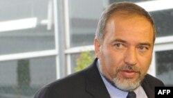 Израелскиот министер за надворешни работи и претседател на партијата Јисраел Беитену Авигдор Либерман.