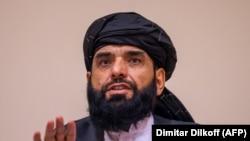 سهیل شاهین سخنگو و عضو دفتر سیاسی طالبان در قطر