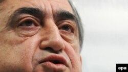 Президент Армении Серж Саркисян