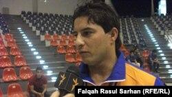 احمد راضي الفائز بالميدالية الذهبية