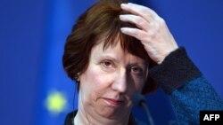 Верховный представитель Европейского союза по внешней политике и безопасности Кэтрин Эштон.