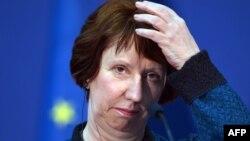 Шефицата за надворешна политика и безбедност на ЕУ Кетрин Ештон.