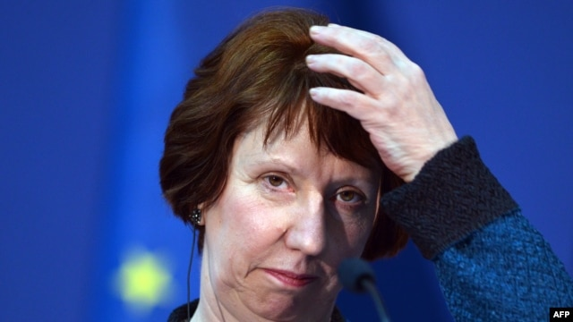 EU Foreign Policy Catherine Ashton (file photo)
