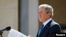 Экс-президент США Джордж Буш-младший