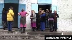 Степное айылындагы аялдар абагы