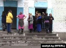 Степное елдімекеніндегі әйелдер түрмесі. Қырғызстан.