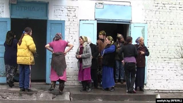 Чүй облусундагы Степное айылында жайгашкан аялдар абагы. 2007-жыл.