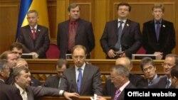 Виступ Арсенія Яценюка під час пленарного засідання Верховної Ради України, Київ, 11 листопада 2008 р.