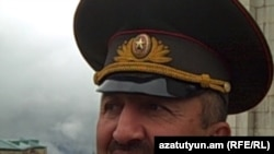 The commander of Armenian-backed forces in the breakaway Azerbaijani region of Nagorno-Karabakh, Movses Hakobian